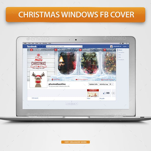 Christmas Windows Fb Timeline Cover
