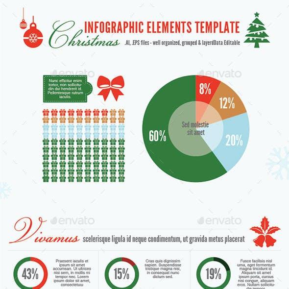 Christmas Infographic Template