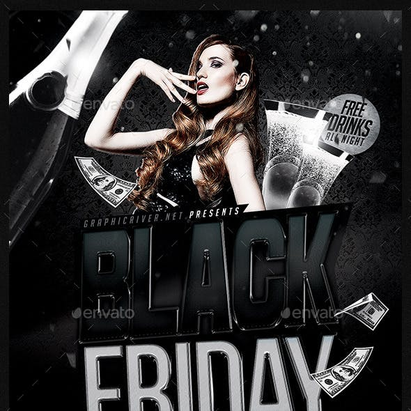 Black Friday | Flyer Template PSD