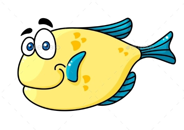 Cartoon Fish - Animals Characters
