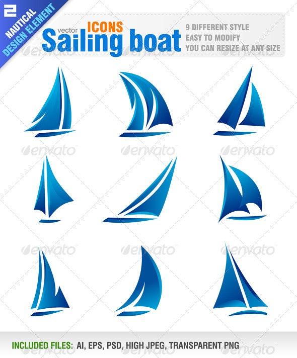 Sailing boat - Travel Conceptual