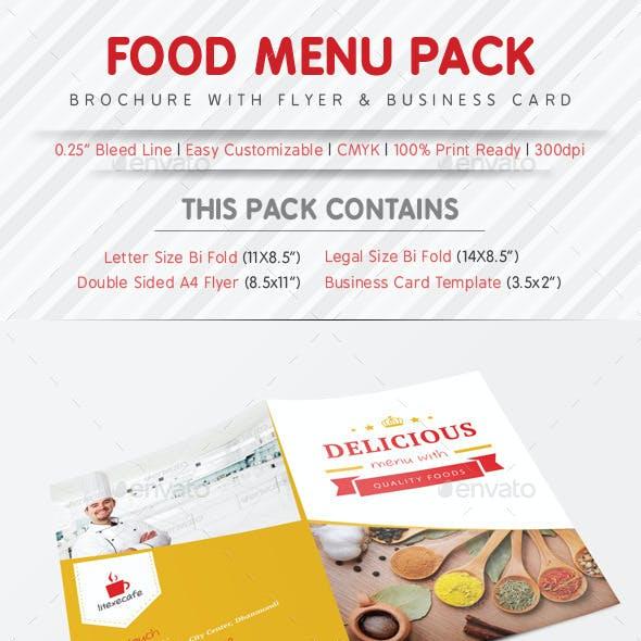 Food Menu Pack Template