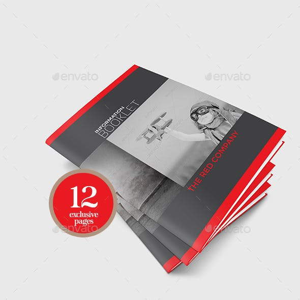 Company Information Booklet Template
