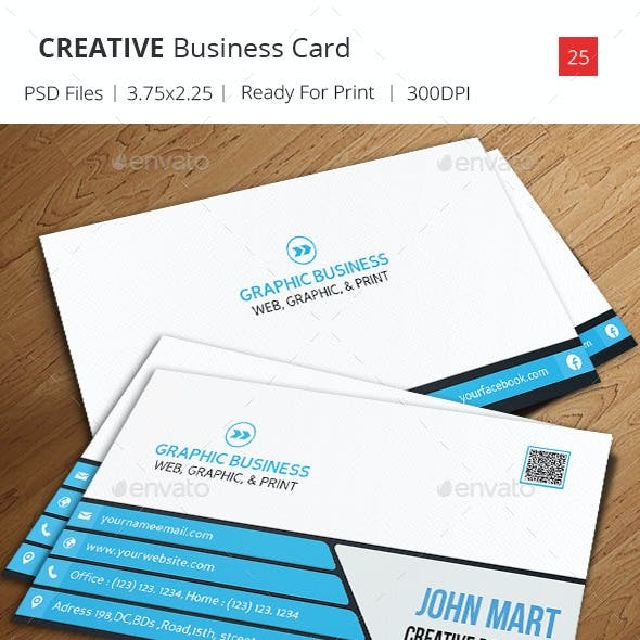 Creative Business Card v.27