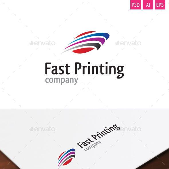 Fast Printing Logo
