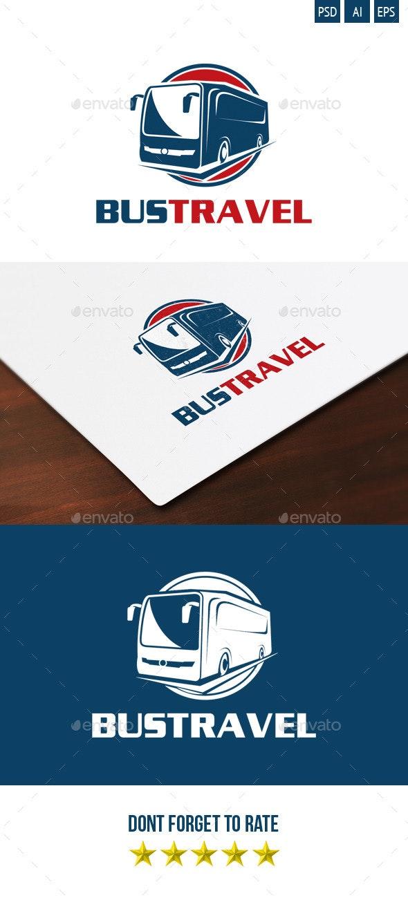 Bus Travel Logo - Objects Logo Templates