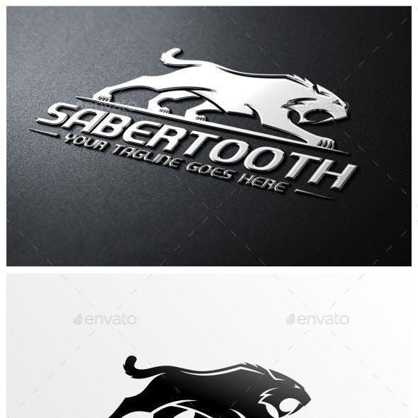 Sabertooth Logo Template