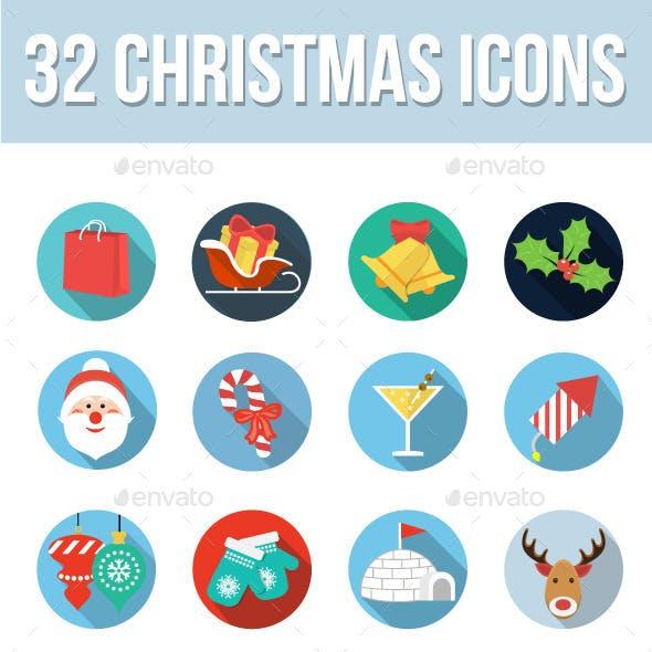 32 Christmas Icons