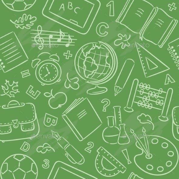 School Objects Pattern