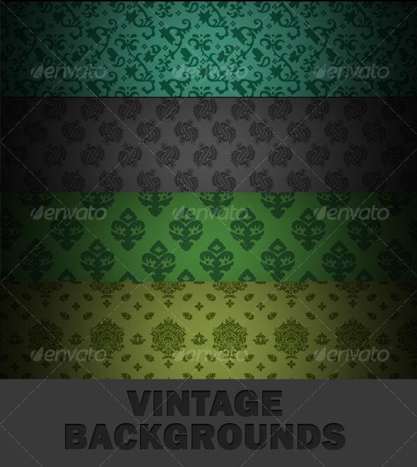 PREMIUM VINTAGE BACKGROUNDS - Patterns Backgrounds