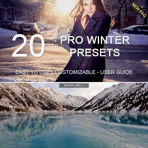 20 Winter Pro Presets