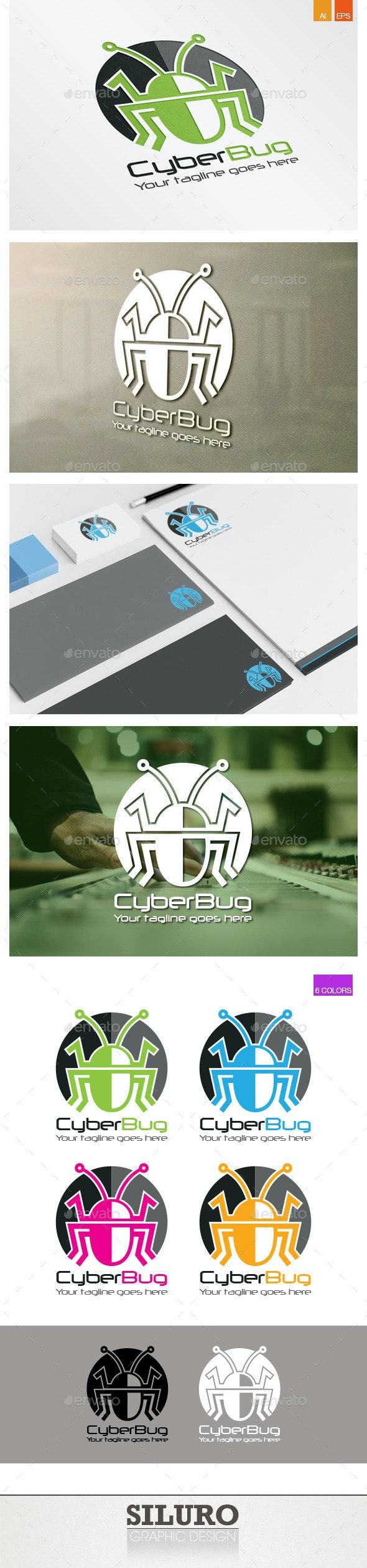 Cyber Bug Logo