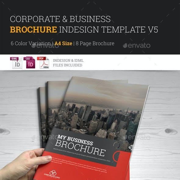 Corporate Multipurpose Brochure Template v5