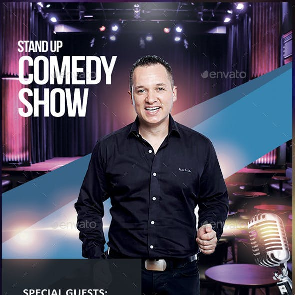 Stand Up Comedy - Flyer