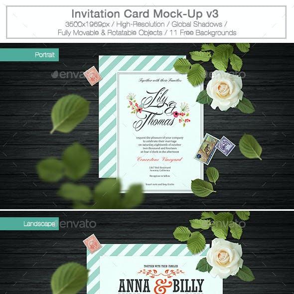 Invitation Card Mock-Up v3