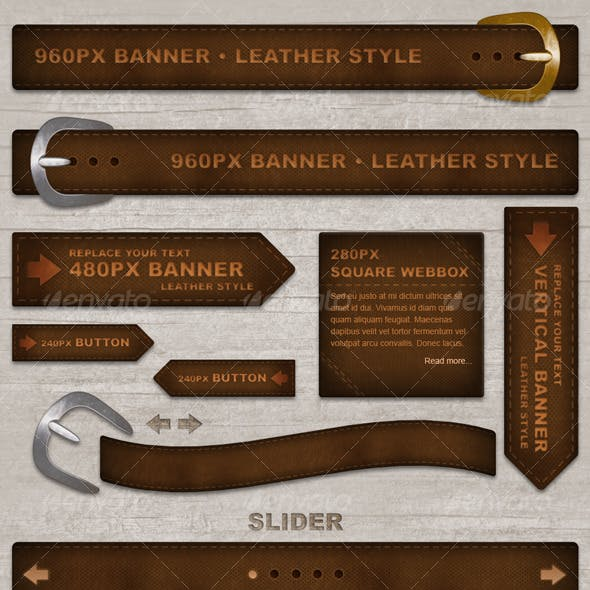 Leather Style Elements