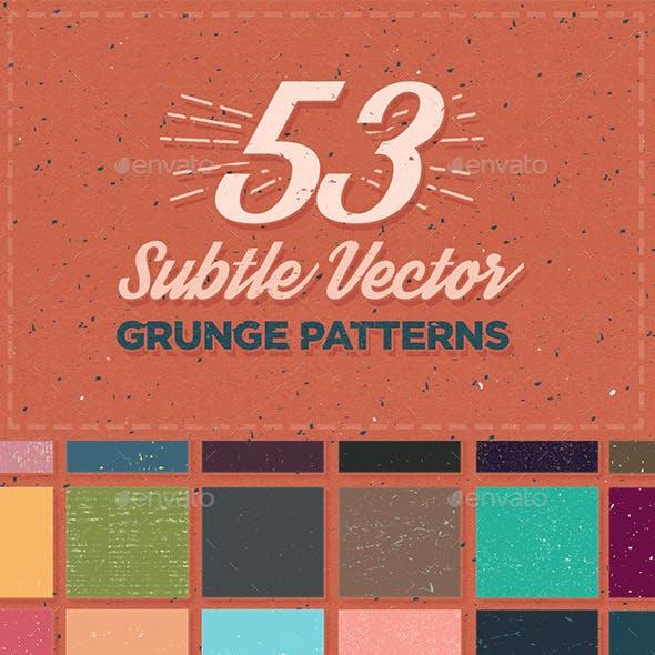 53 Subtle Grunge Patterns