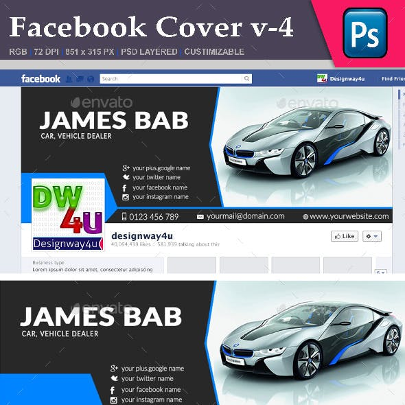 Facebook Cover v-4