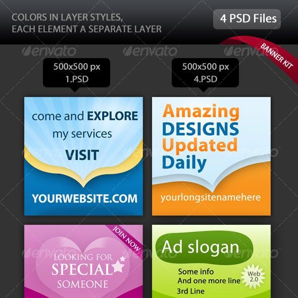 Web Banner KIT - Innovative Banner Ideas