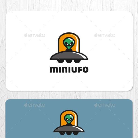 Mini UFO Mascot Logo