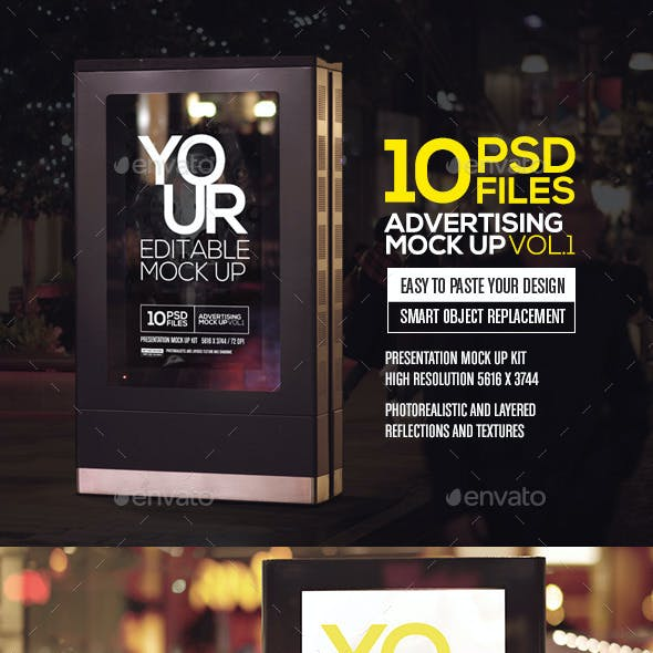 Advertising Mock Up Vol.1