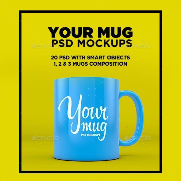 Your Mug - PSD Mockup