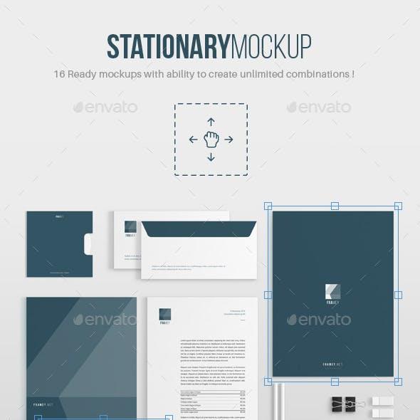 Stationery Mockup V1.0