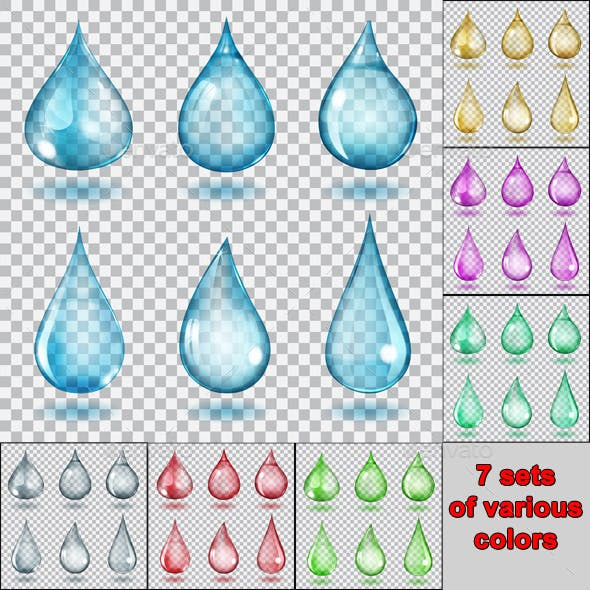 Transparent Drops