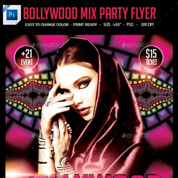 Bollywood Mix Party Flyer