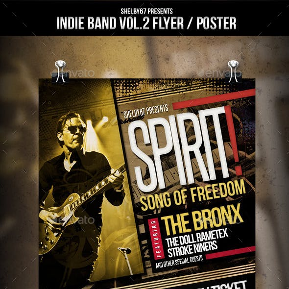 Indie Band Flyer / Poster Vol. 2