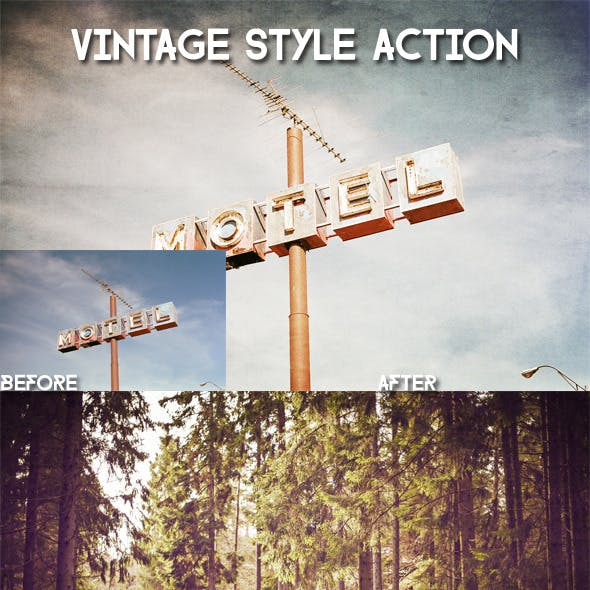 Vintage Style Action