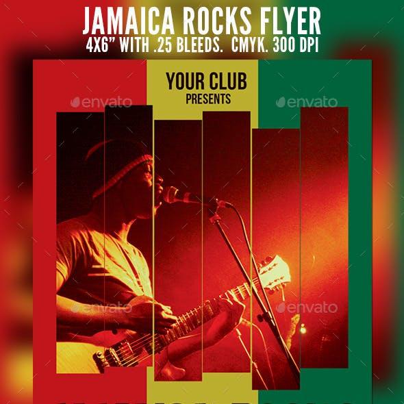 Jamaica Rocks Flyer