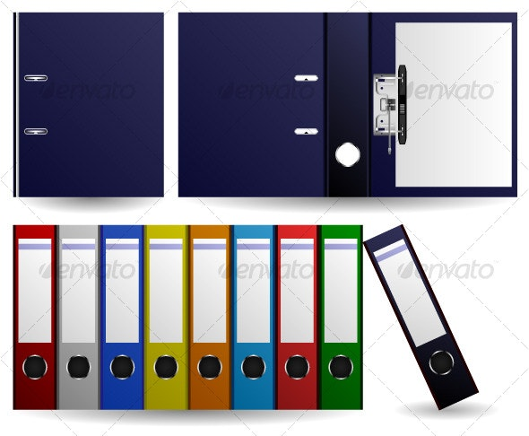 Files and Folders Vector - Man-made Objects Objects