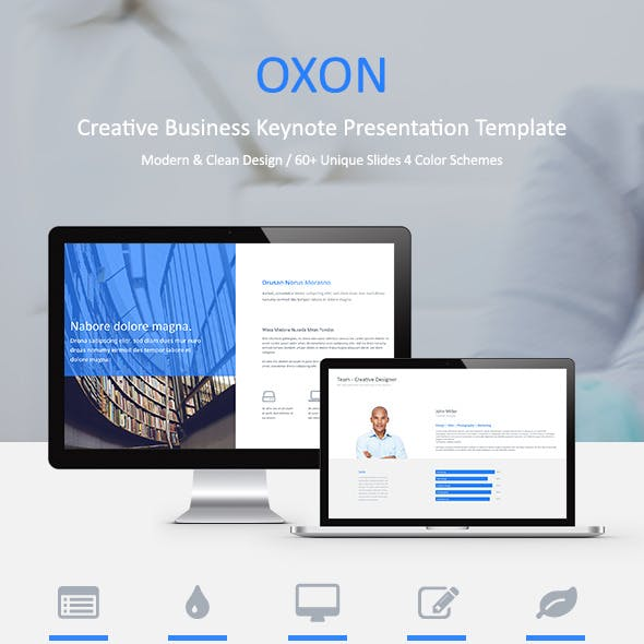 Oxon - Keynote Presentation Template
