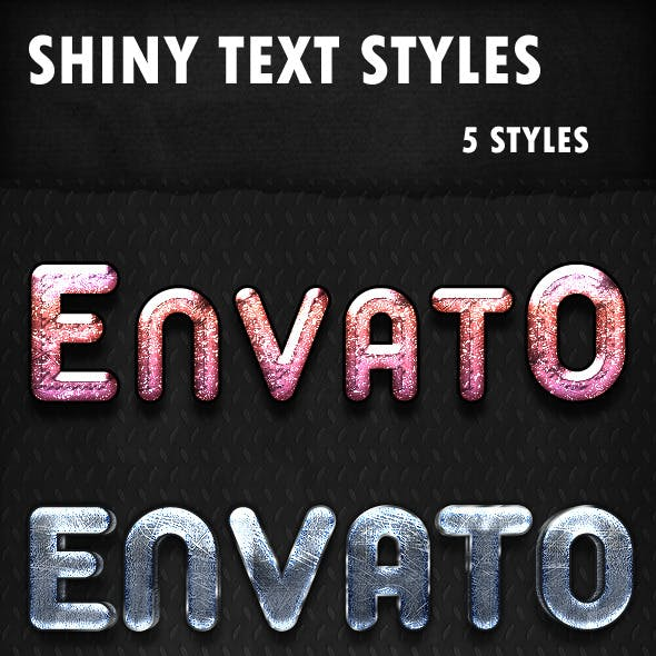 Shiny Text Styles