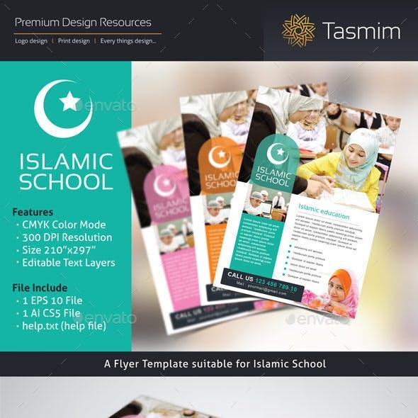 Islamic school Flyer