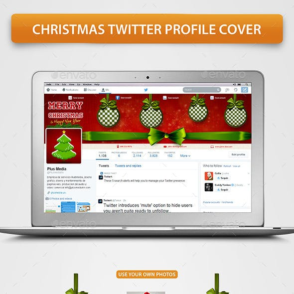 Christmas Twitter Profile Cover
