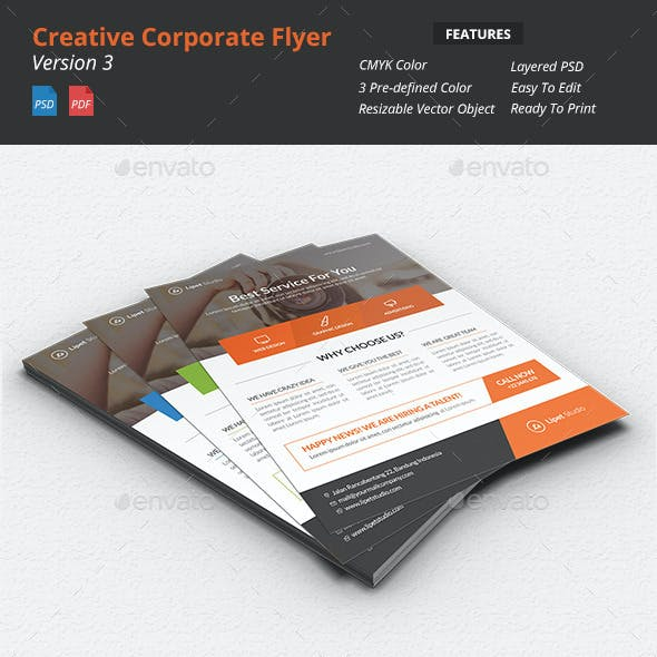 Creative Corporate Flyer v3