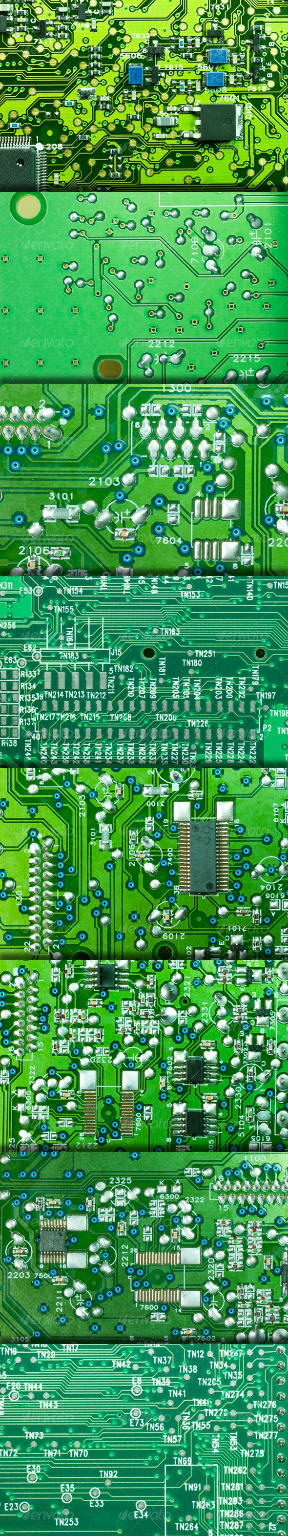 Electronic Printed Circuit Texture - Miscellaneous Textures