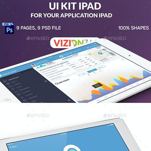 Rocket Apps UI Kit Tablet