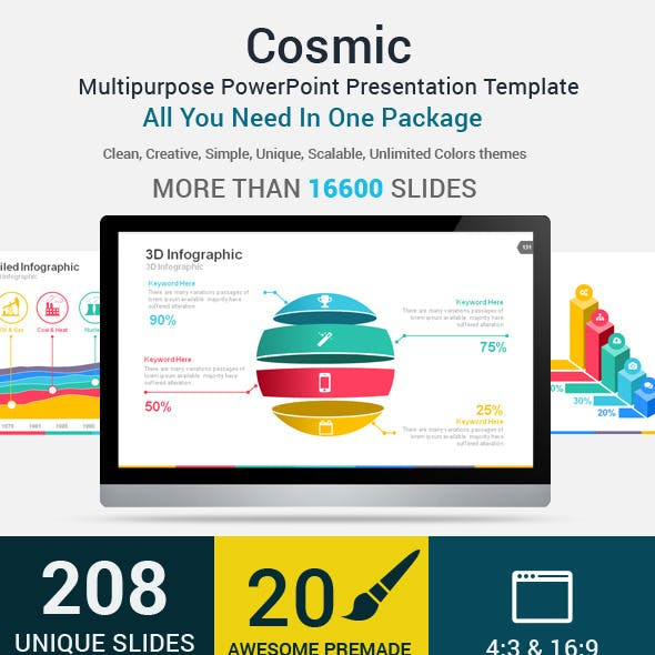 Cosmic PowerPoint Presentation Template