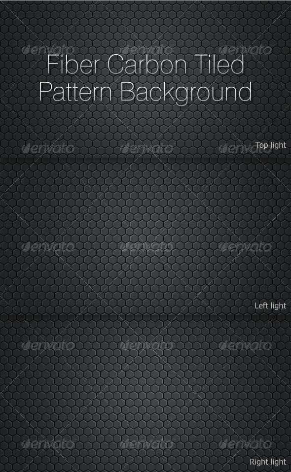 Fiber Carbon Tiled Pattern Background - Patterns Backgrounds