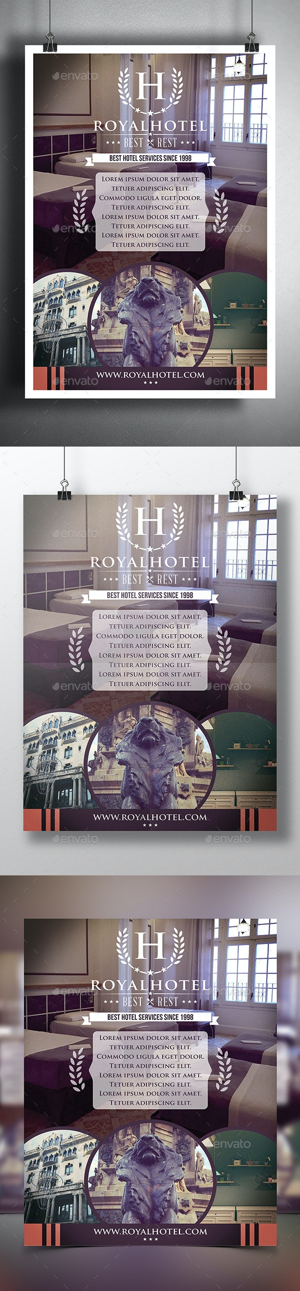 Hotel Poster Flyer Template - Corporate Flyers