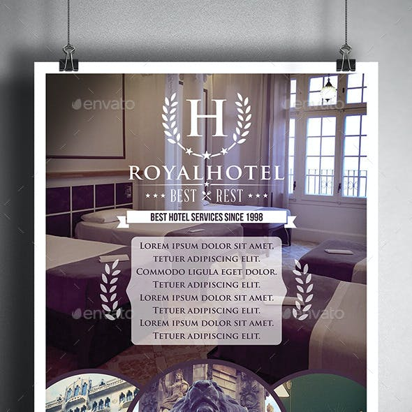 Hotel Poster Flyer Template