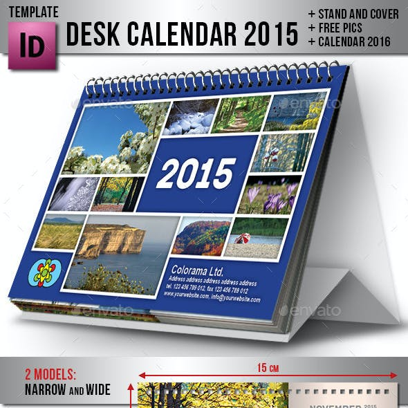 Desk Calendar 2015
