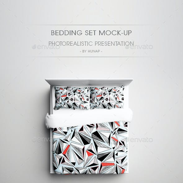 Bedding Set Mock-Up