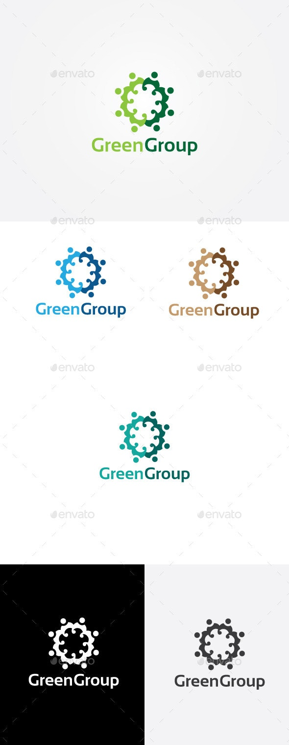 Consulting People Logo - Humans Logo Templates