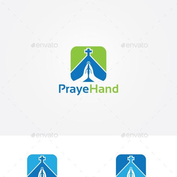 Prayer Hands Logo