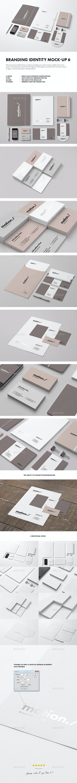 Branding / Identity Mock-up 6 - Stationery Print