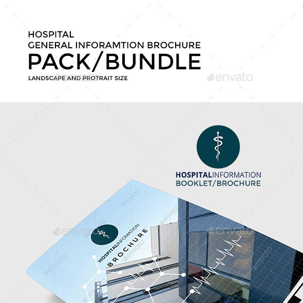 Hospital General Information Brochure Pack
